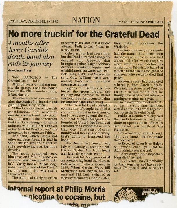 Grateful Dead - Presse non Francophone 21604410