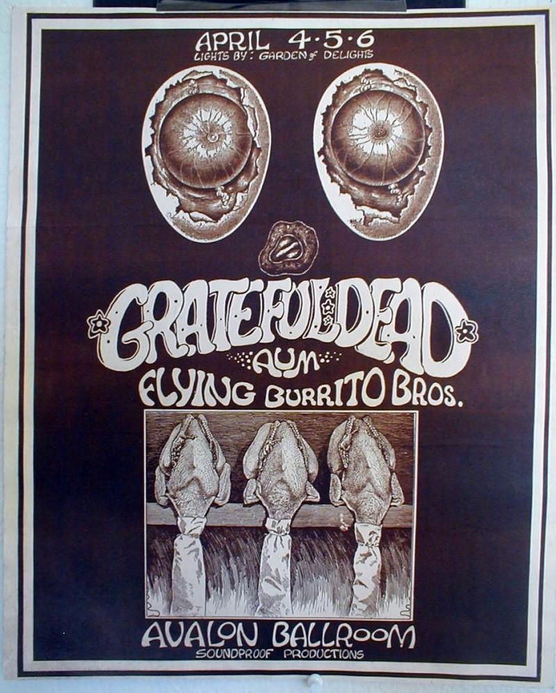Grateful Dead - Affiches 438bfc10