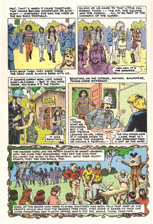 Grateful Dead - Comics Gdead211