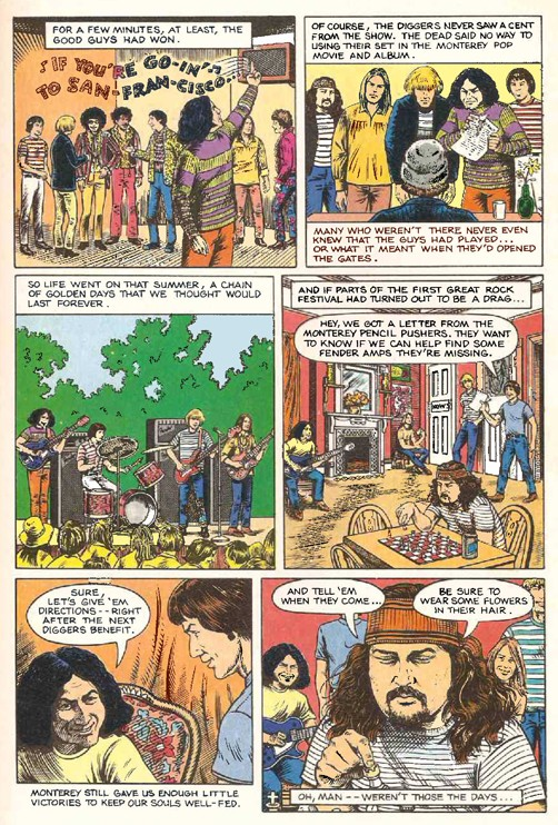 Grateful Dead - Comics Gdead710