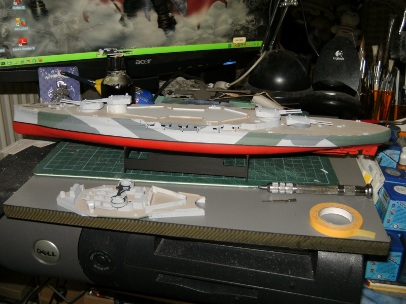 """HMS Royal Sovereign von """"Plastyk"""" in 1:500 Pict0042"""