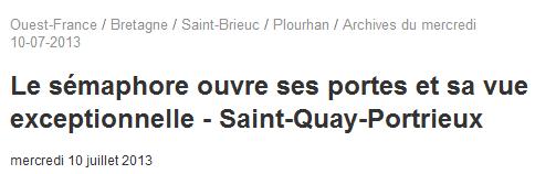 SÉMAPHORE - ST QUAY PORTRIEUX (CÔTES D'ARMOR) Abc10
