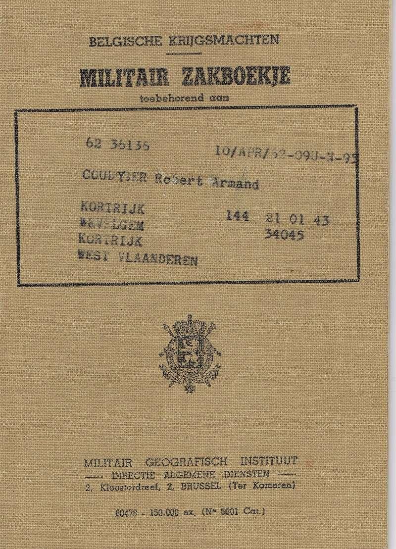 le Livret Militaire Ccf31010