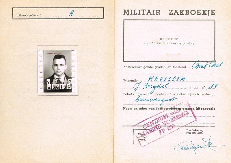 le Livret Militaire Ccf31011