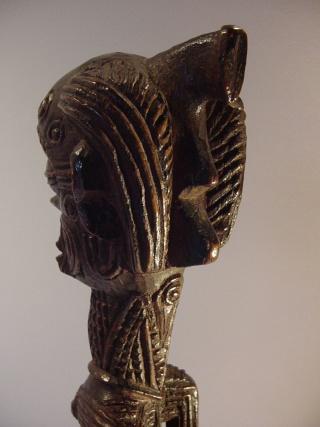 Bena Luluwa people, Male Priapic Figure, Bena Makuna, Southern Kasaï/Sankuru Region, Demba Area, Congo Dsc00911