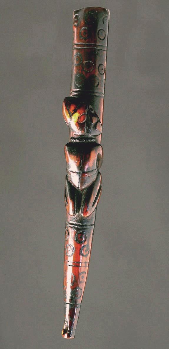 Kongo people, Ritual Whistle, Lower Congo Region Siffle11