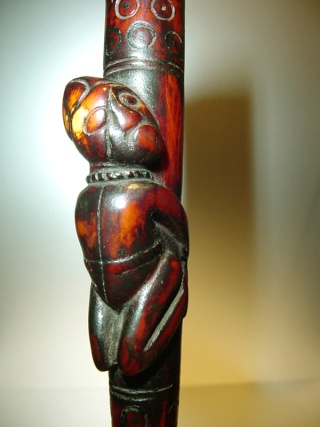Kongo people, Ritual Whistle, Lower Congo Region Siffle14