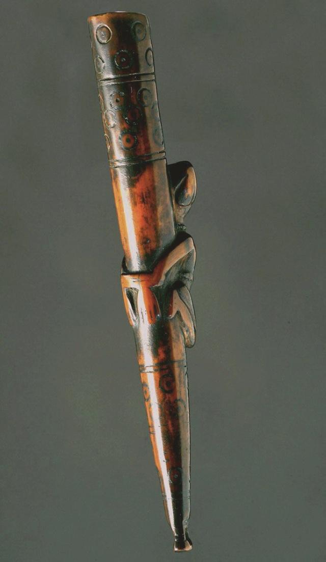 Kongo people, Ritual Whistle, Lower Congo Region Siffle15