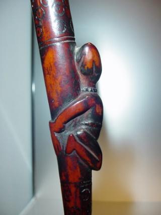 Kongo people, Ritual Whistle, Lower Congo Region Sifflt10