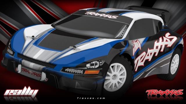 [New] Traxxas Rally 1/10 7407-r12
