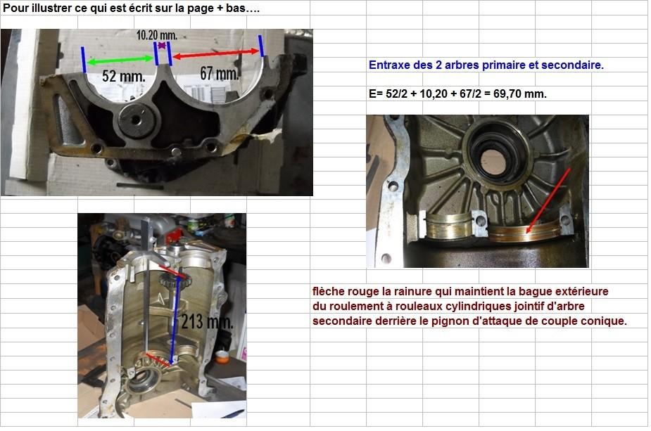 Boites 330 (R8) aux boites NG5 (R5 alpine turbo) roulements Conclu10