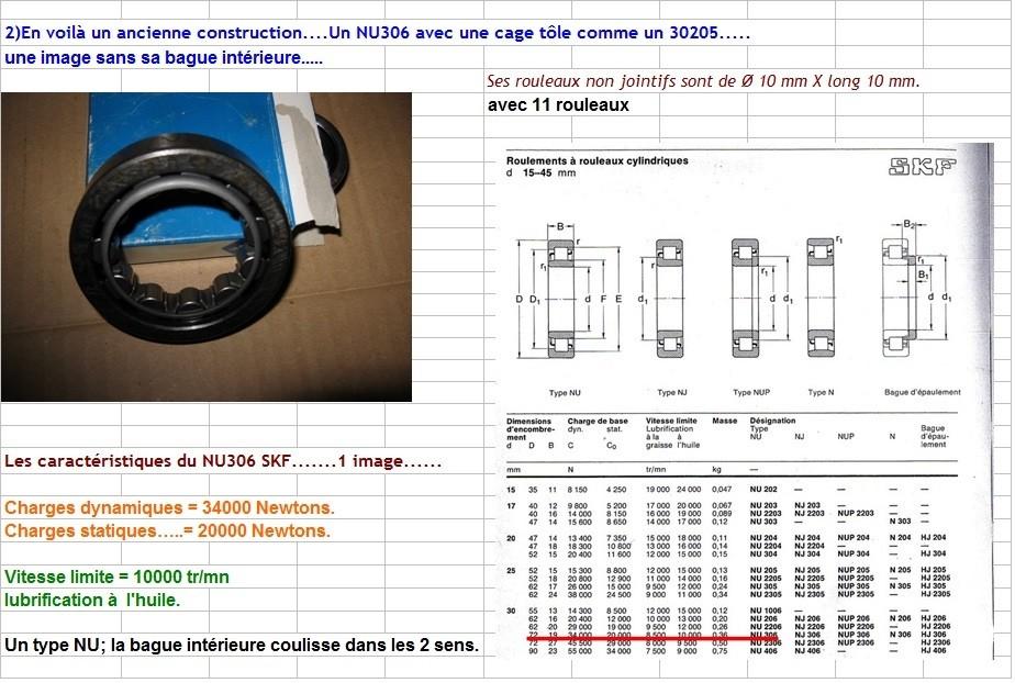 Boites 330 (R8) aux boites NG5 (R5 alpine turbo) roulements Nu306_10