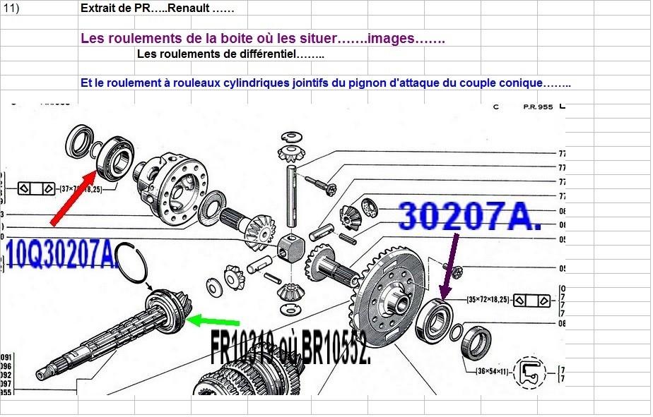 Boites 330 (R8) aux boites NG5 (R5 alpine turbo) roulements Pr955_12