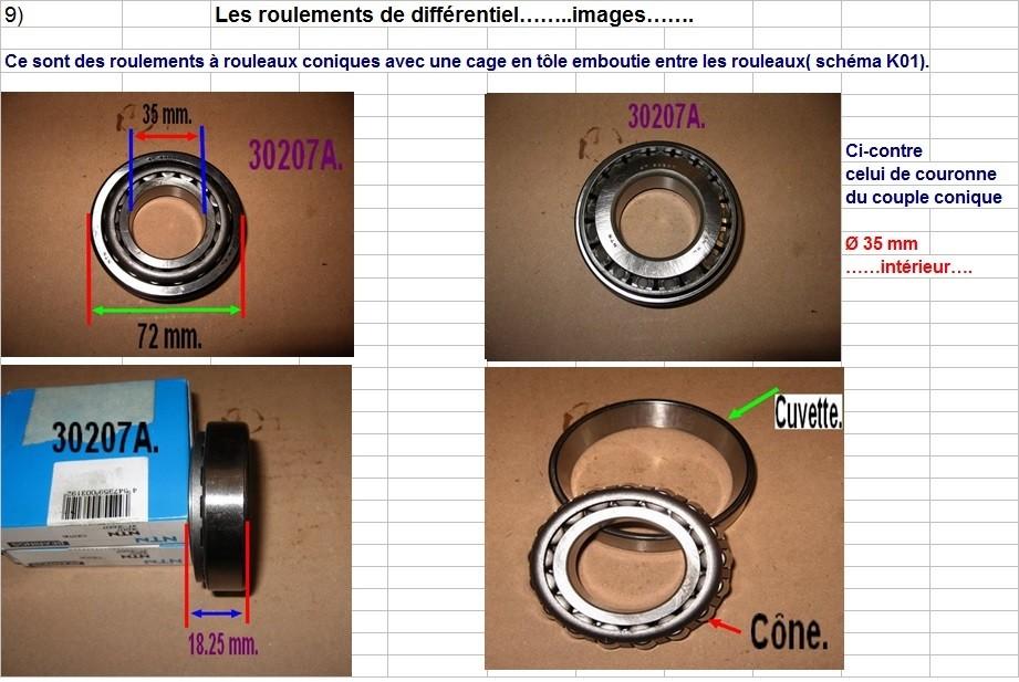 Boites 330 (R8) aux boites NG5 (R5 alpine turbo) roulements Rlt_di12