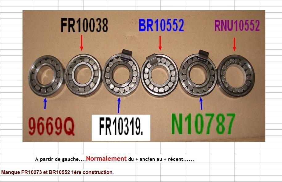 Boites 330 (R8) aux boites NG5 (R5 alpine turbo) roulements Rpa_p311
