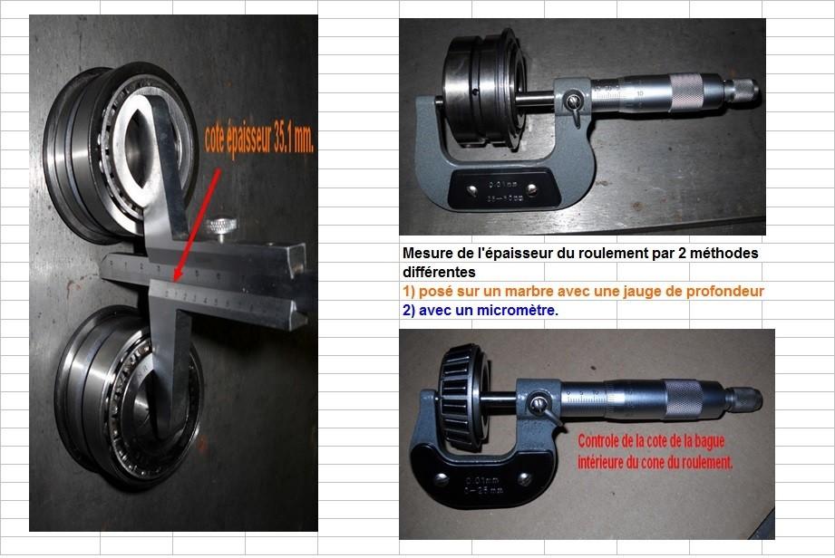 Boites 330 (R8) aux boites NG5 (R5 alpine turbo) roulements X10d3019