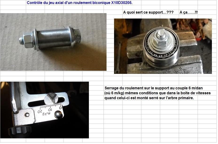 Boites 330 (R8) aux boites NG5 (R5 alpine turbo) roulements X10d3023