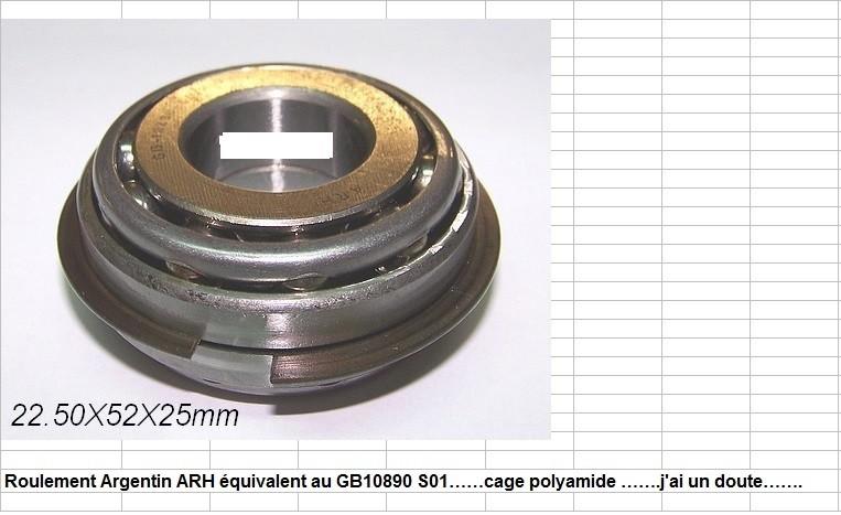 Boites 330 (R8) aux boites NG5 (R5 alpine turbo) roulements X10d3027