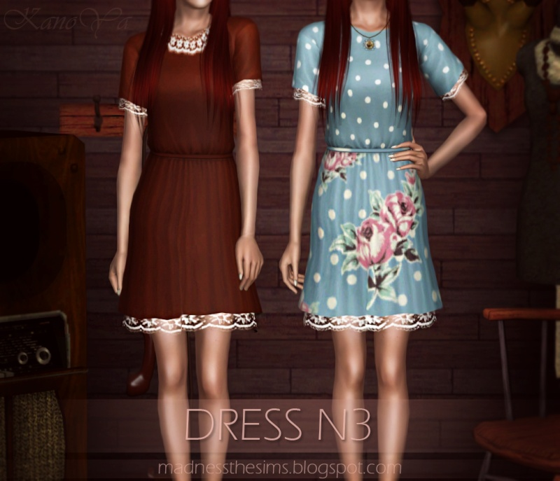Dress with lace N3 by KanoYa 110