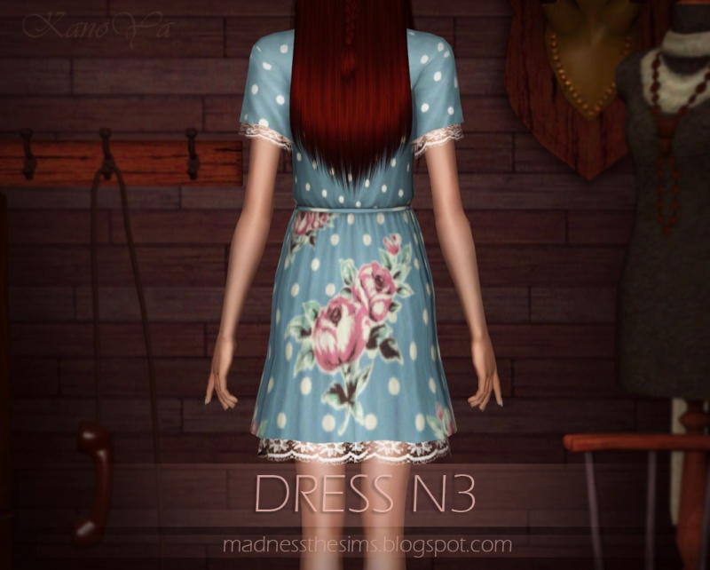 Dress with lace N3 by KanoYa 510