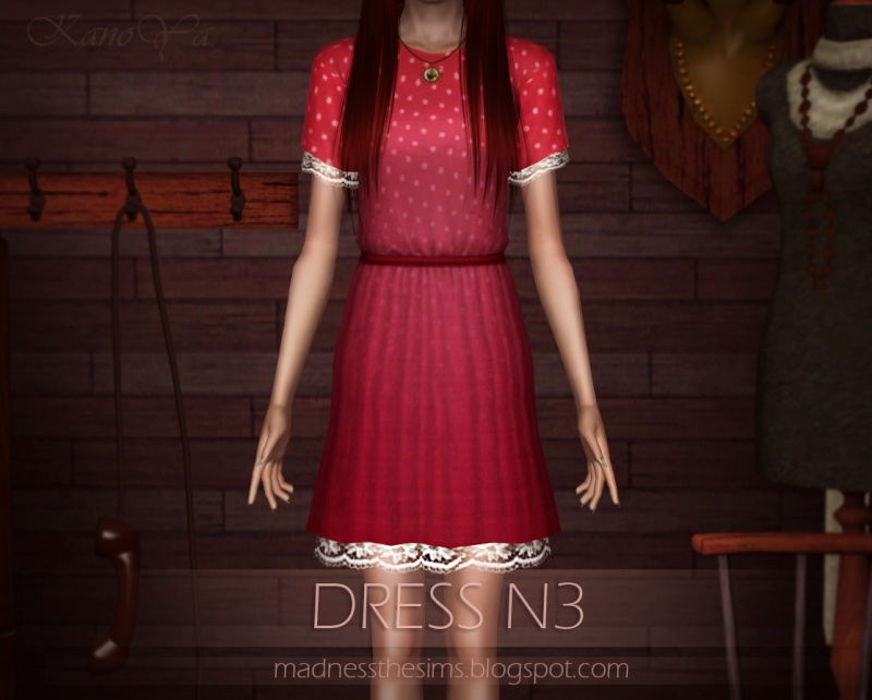 Dress with lace N3 by KanoYa 710