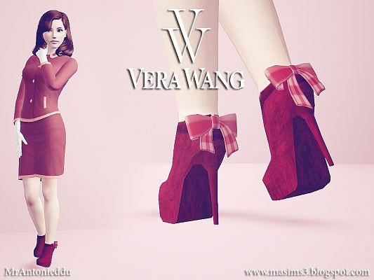 Vera Wang Ankle Boots by MrAntonieddu Sims3u11