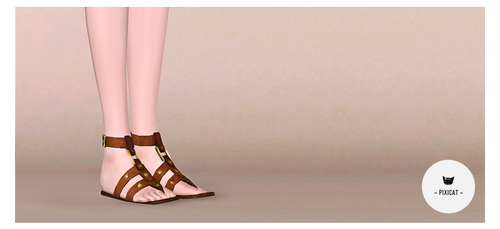 Gladiator Sandals by Pixicat Tumblr17