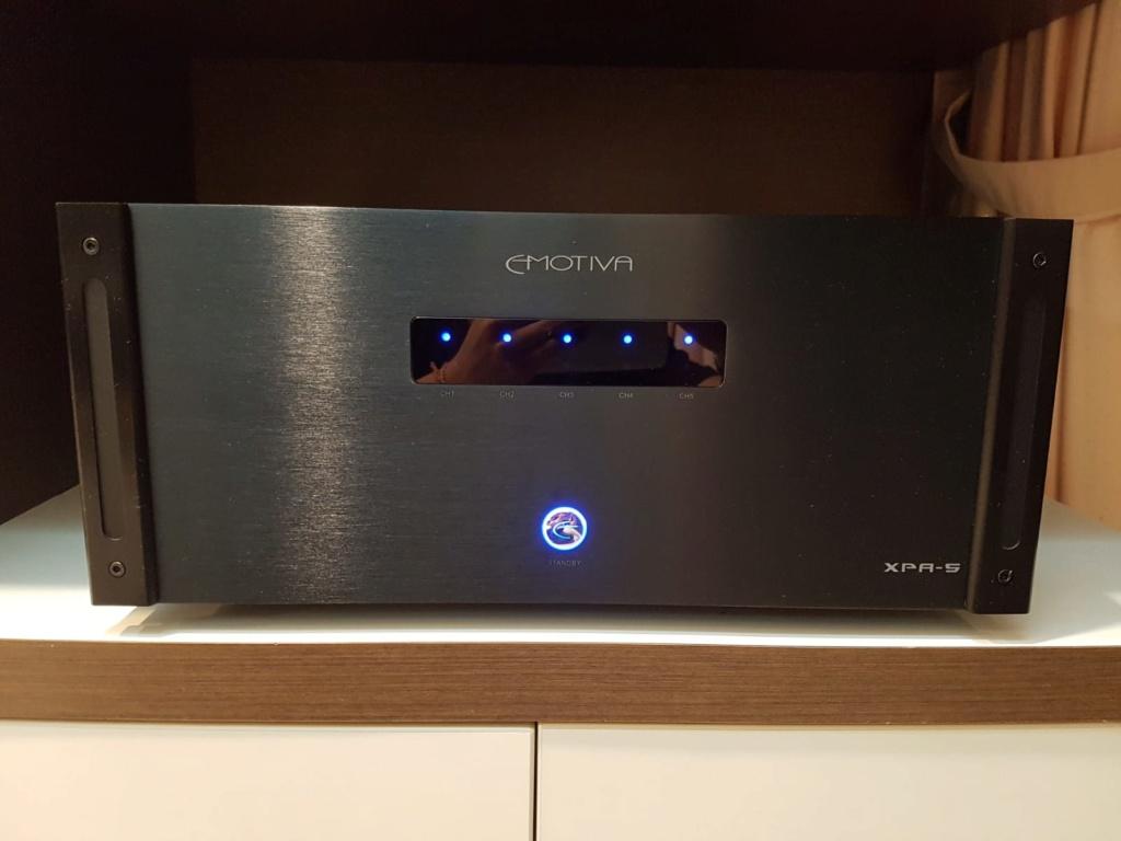 emotiva xpa5  power amp 5chnnel x 200w ( sold ) Img-2011