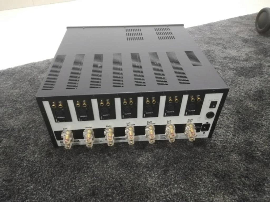 AudioControl Savoy G3 Multi Channel Power Amp ( 7 Channel x 200w ) ( sold)  Img-2024