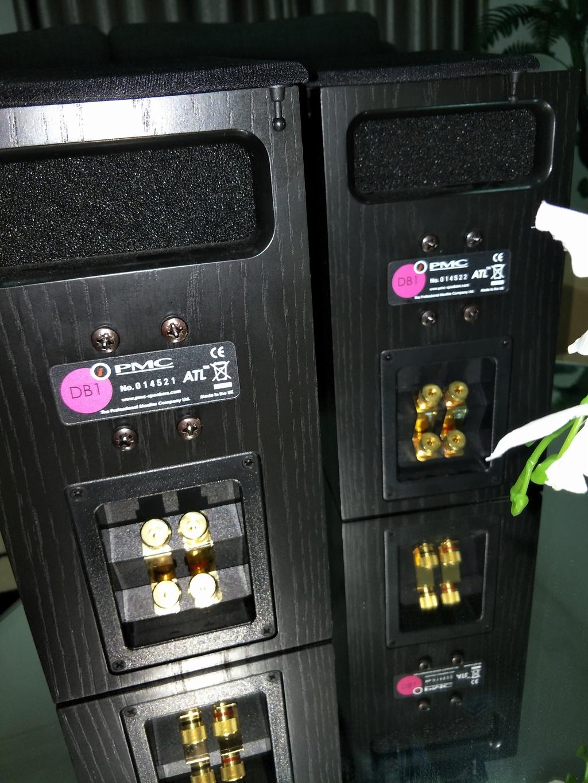 pmc db1i bookshelft speaker (sold ) Img20114
