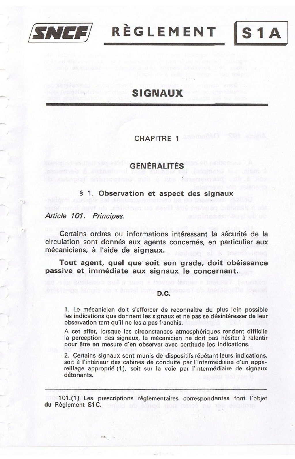 Signalisation SNCF 00110