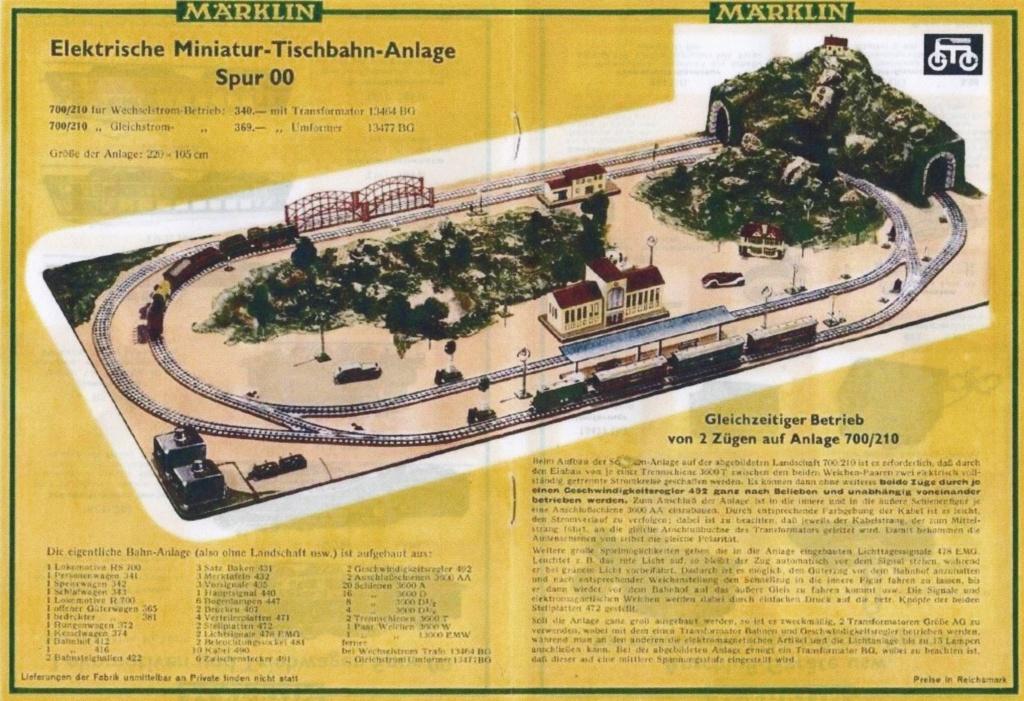 Voies Märklin anciennes et voie VB Trois rails 00413