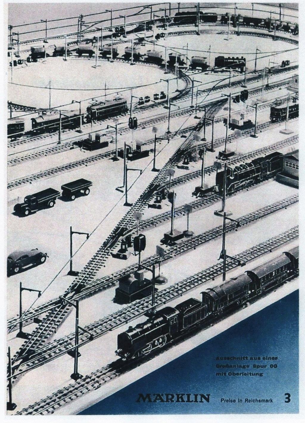 Voies Märklin anciennes et voie VB Trois rails 00811