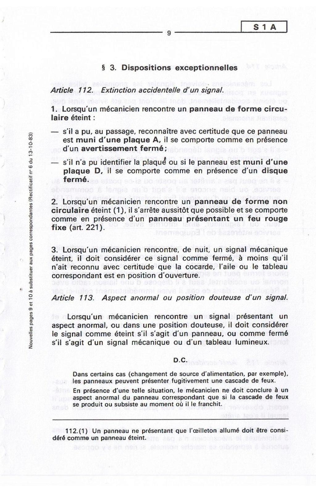 Signalisation SNCF 00910