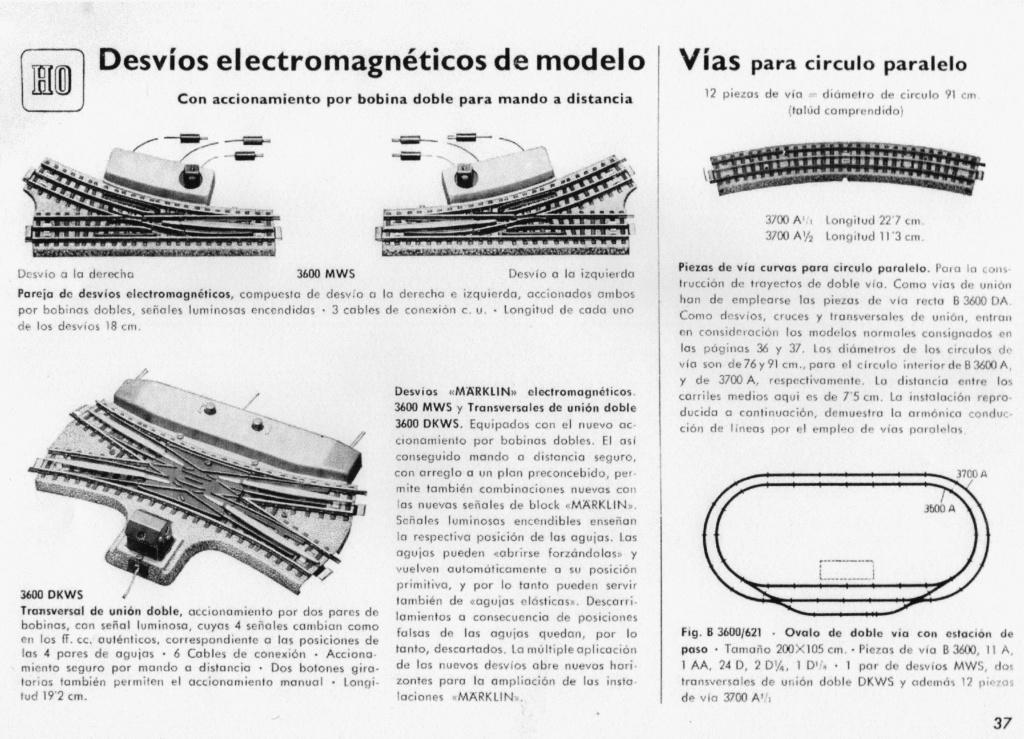 Voies Märklin anciennes et voie VB Trois rails - Page 2 01013