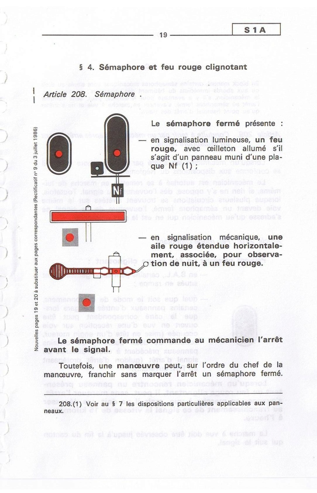 Signalisation SNCF 01910