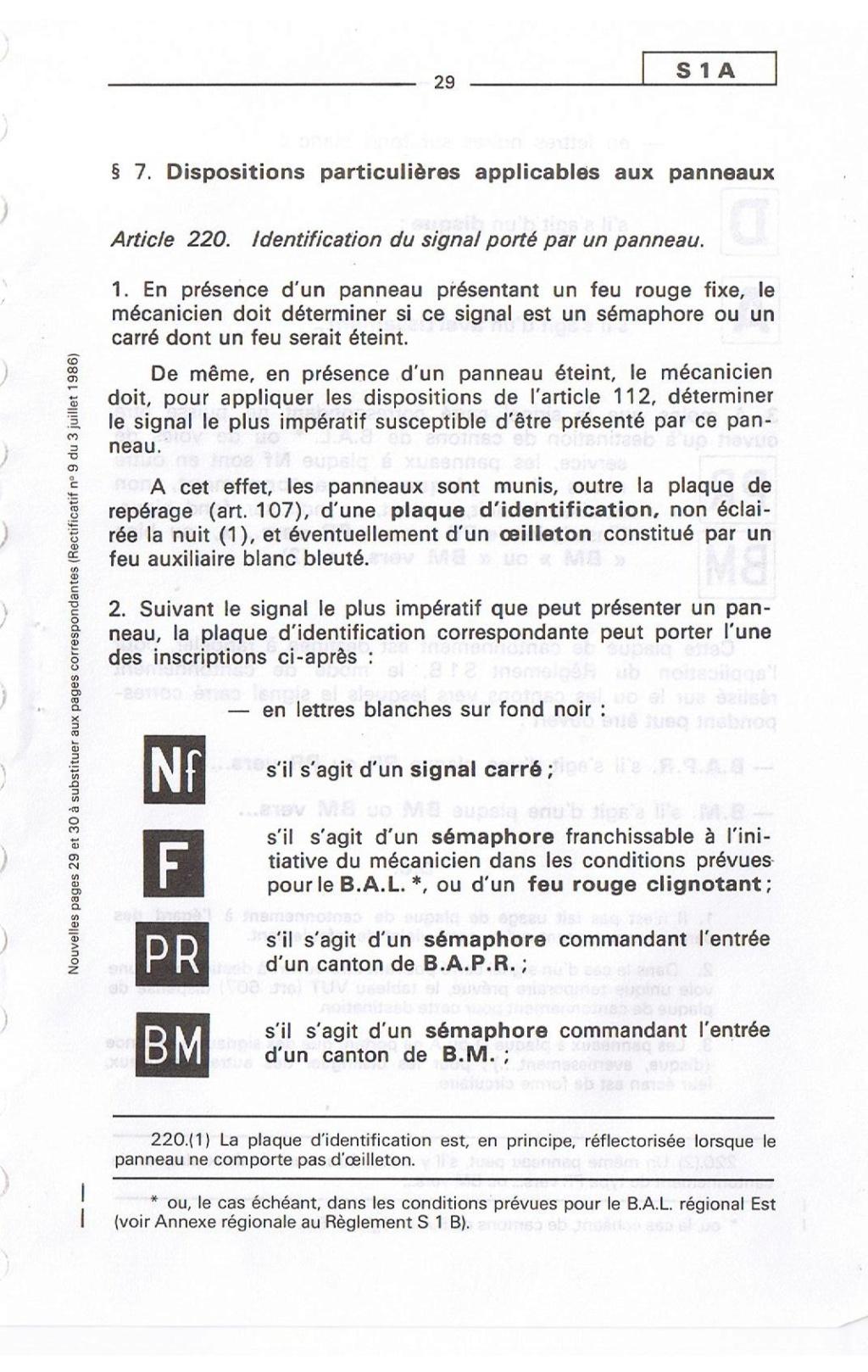 Signalisation SNCF 02910