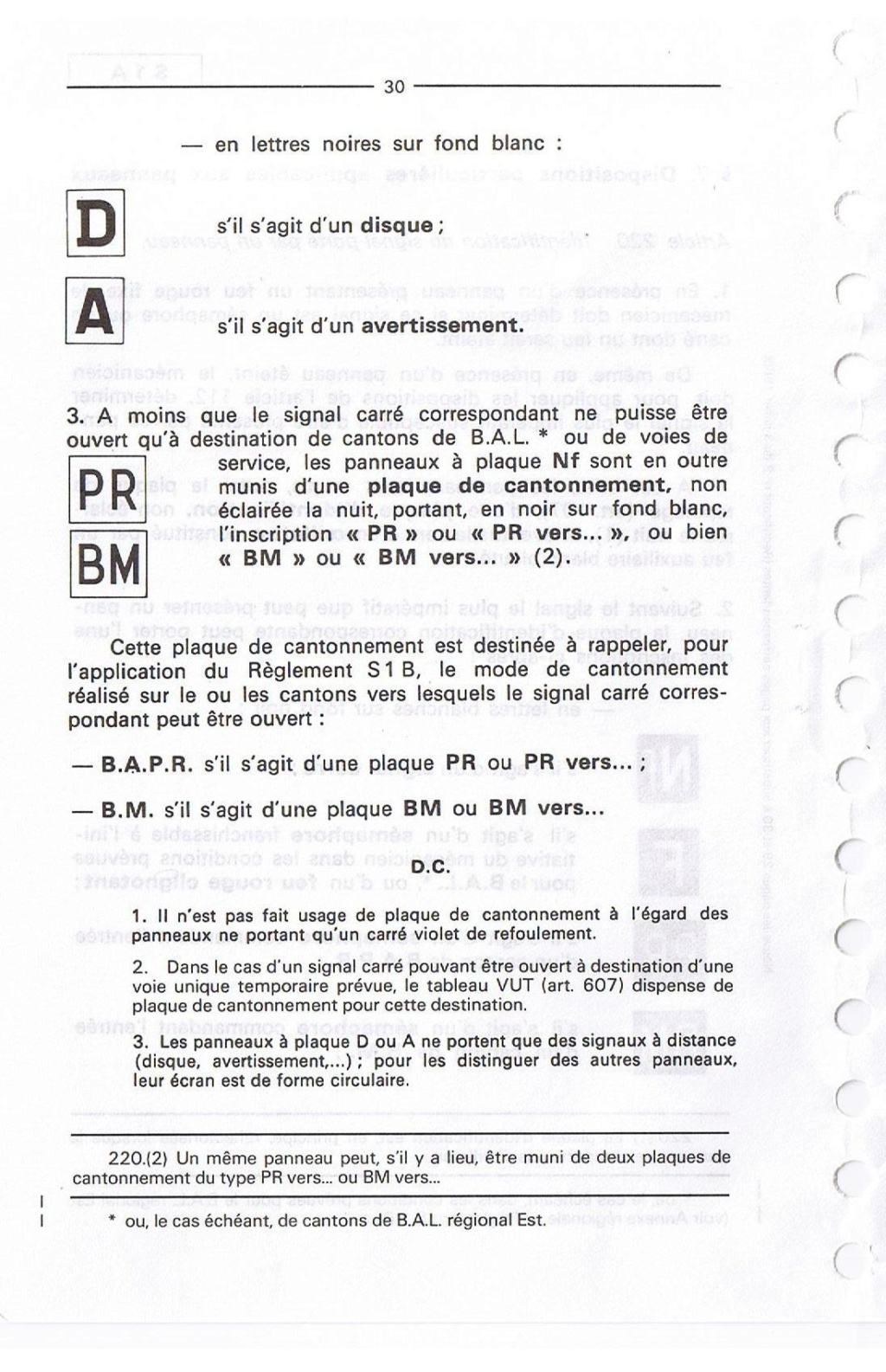 Signalisation SNCF 03010