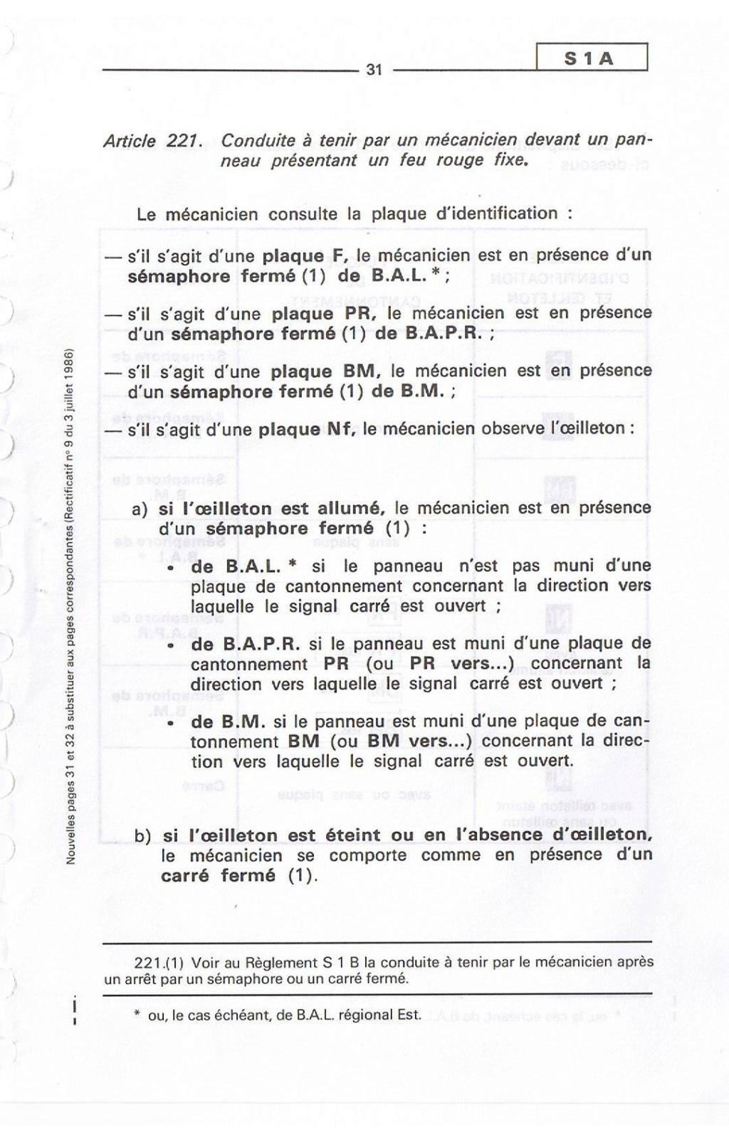 Signalisation SNCF 03110
