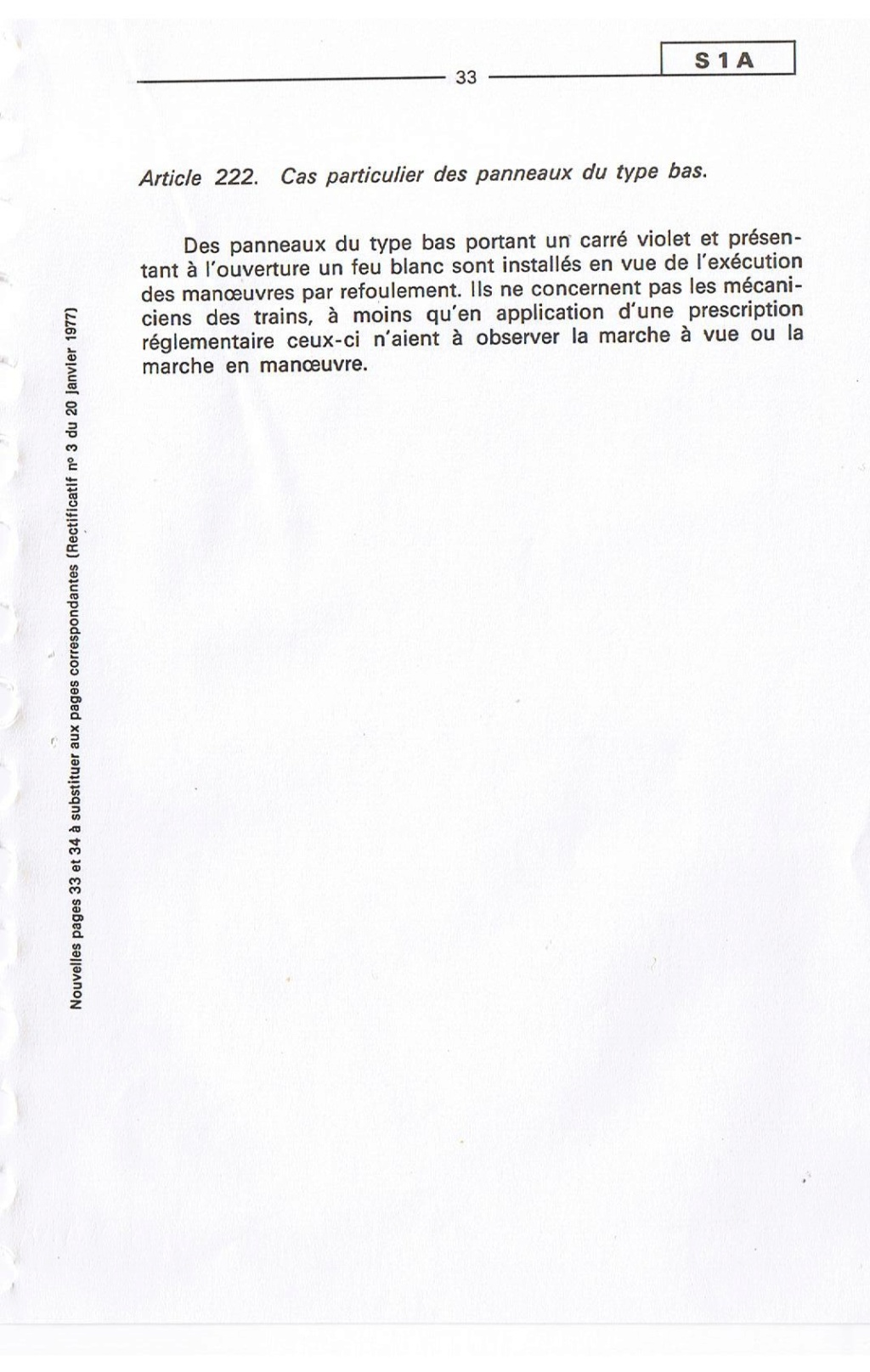 Signalisation SNCF 03310