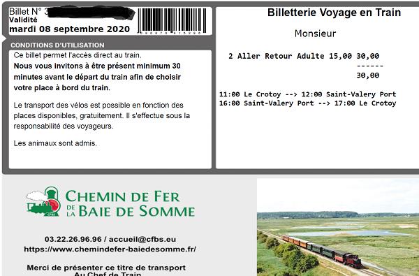Chemin de fer de la Baie de Somme  20082310