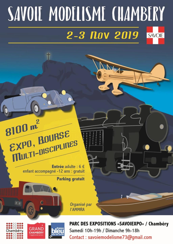 Expo à Chambéry les 2 et 3 Novembre 2019 Aff-am10