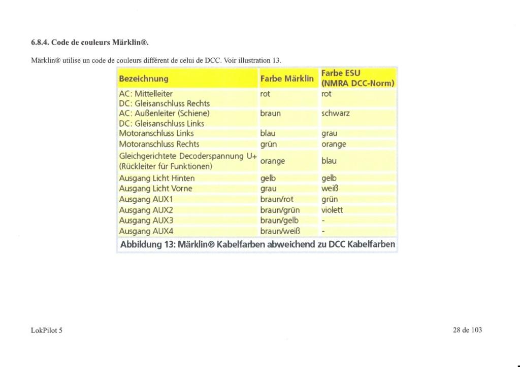 Digitalisation Märklin 37672 avec un ESU V5 Loksound - Page 2 Epson011