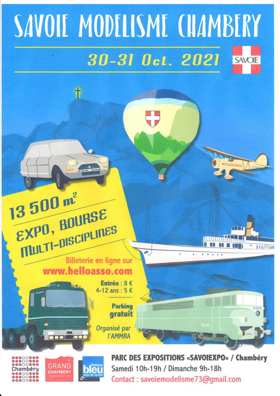 Savoie Modélisme Chambéry 30 et 31  Octobre 2021 Epson028