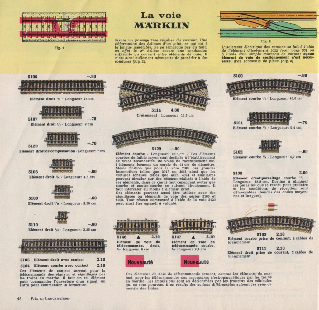 Voies Märklin anciennes et voie VB Trois rails - Page 12 Epson100