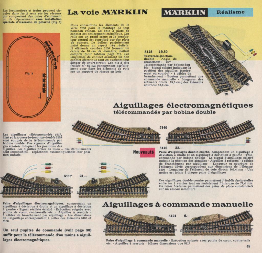 Voies Märklin anciennes et voie VB Trois rails - Page 12 Epson102