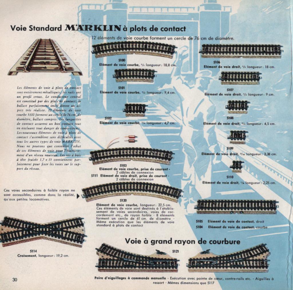 Voies Märklin anciennes et voie VB Trois rails - Page 8 Epson_54