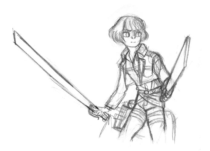 Shingeki no Kyojin [pinku9] Armin10