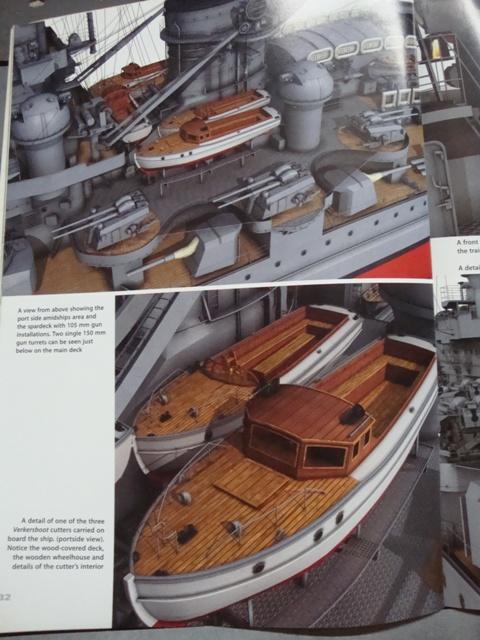 1:72 Scale German WW2 Heavy Battle Cruiser K.M.S. Scharnhorst 1943 - Page 24 Dsc04638