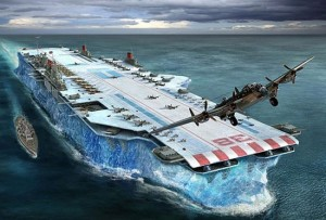 Habbakuk - the ice aircraft carrier Projec10